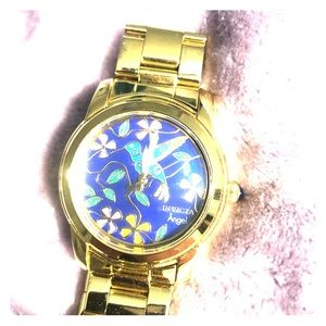 Gold Invicta women's watch Angel Collection